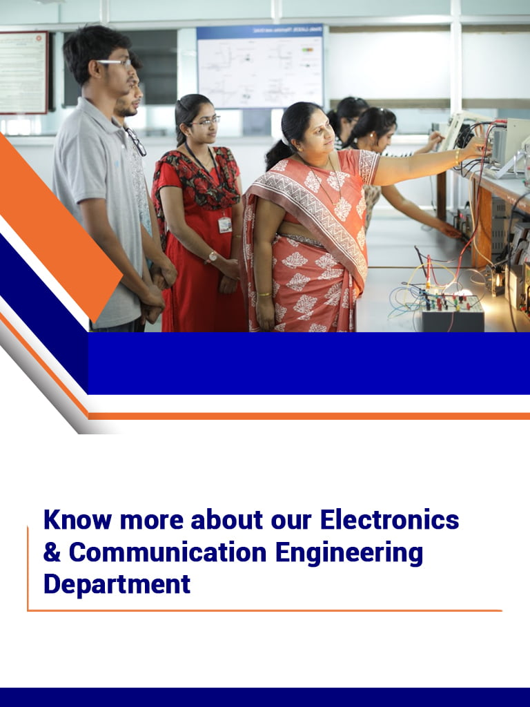Department Overview The Department of Electronics and Communication Engineering Bangalore - BNMIT